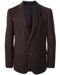 Темно-коричневый пиджак