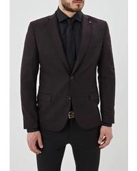 Мужской темно-коричневый пиджак от Bazioni