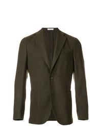 Мужской темно-коричневый пиджак от Boglioli