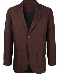 Мужской темно-коричневый пиджак от Goodfight