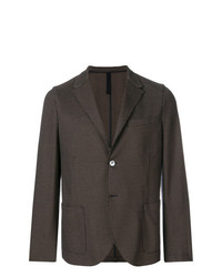 Мужской темно-коричневый пиджак от Harris Wharf London