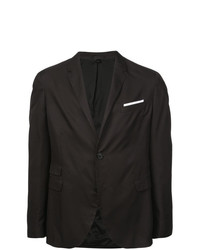 Мужской темно-коричневый пиджак от Neil Barrett