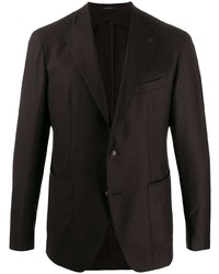 Мужской темно-коричневый пиджак от Tagliatore