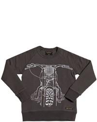 Темно-коричневый свитер