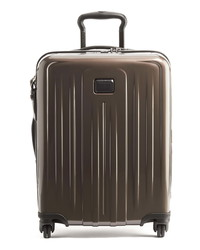 Темно-коричневый чемодан