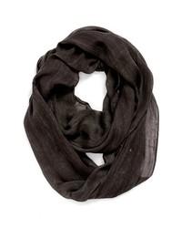Темно-коричневый шарф