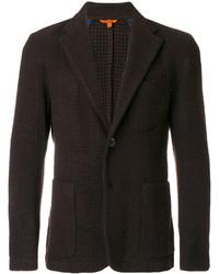 Мужской темно-коричневый шерстяной пиджак от Barena