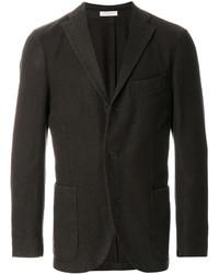 Мужской темно-коричневый шерстяной пиджак от Boglioli