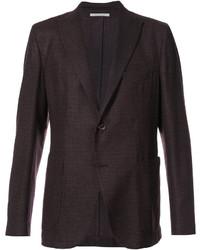 Мужской темно-коричневый шерстяной пиджак от Eleventy