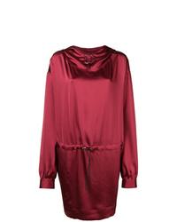Темно-красная блузка с длинным рукавом от Rouge Margaux