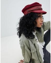 Женская темно-красная кепка от Brixton