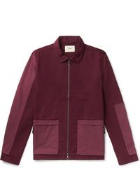 Темно-красная куртка-рубашка