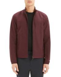 Темно-красная куртка харрингтон