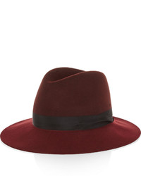 Женская темно-красная шерстяная шляпа от Rag and Bone
