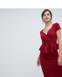 01fdaa1a104 Купить темно-красное платье-футляр - модные модели платьев-футляров ...