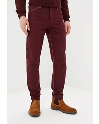 Темно-красные брюки чинос от Elijah & Sims