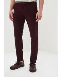 Темно-красные брюки чинос от la Biali