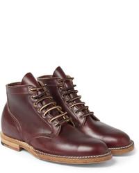 e15488c13877 Мужские темно-красные кожаные классические ботинки   Где купить и с ...