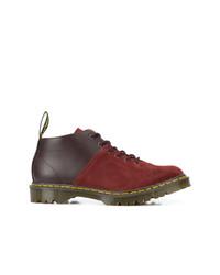 Мужские темно-красные кожаные повседневные ботинки от Dr. Martens