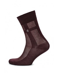 Мужские темно-красные носки от Byford