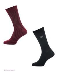 Мужские темно-красные носки от Skinija