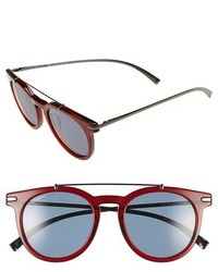 Темно-красные солнцезащитные очки