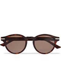 Мужские темно-красные солнцезащитные очки от CUTLER AND GROSS
