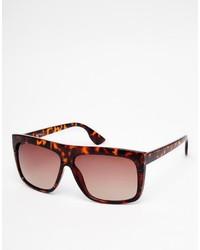 Мужские темно-красные солнцезащитные очки от Jeepers Peepers