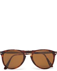 Мужские темно-красные солнцезащитные очки от Persol