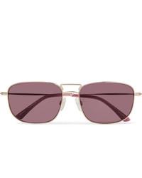 Мужские темно-красные солнцезащитные очки от Sun Buddies