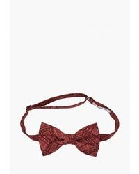 Мужской темно-красный галстук-бабочка от Rainbowtie