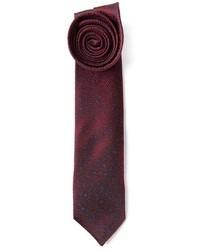 Мужской темно-красный галстук с принтом от Mr Start