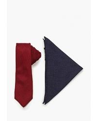 Мужской темно-красный галстук от Burton Menswear London