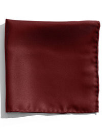 Темно-красный нагрудный платок
