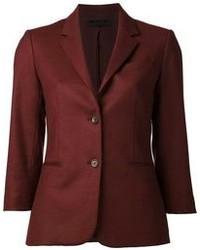 Темно-красный пиджак