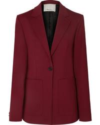Женский темно-красный пиджак от 3.1 Phillip Lim