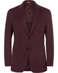 Мужской темно-красный пиджак от Burberry