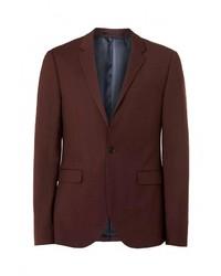 Мужской темно-красный пиджак от Topman