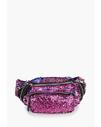 Темно-пурпурная поясная сумка от Topshop