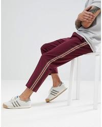 Темно-пурпурные брюки чинос от ASOS DESIGN