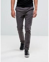 Темно-пурпурные брюки чинос от Asos