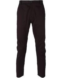 Темно-пурпурные брюки чинос от Lanvin