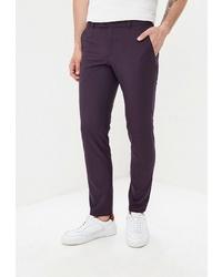 Темно-пурпурные брюки чинос от Mishelin