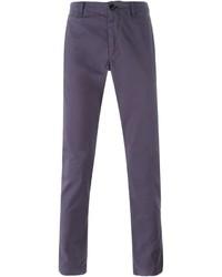 Темно-пурпурные брюки чинос от Paul Smith