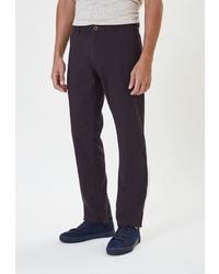 Темно-пурпурные брюки чинос от WHITNEY
