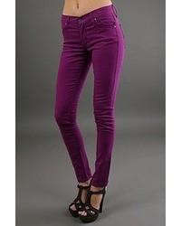 Женские темно-пурпурные джинсы скинни от Jala Clothing
