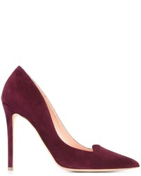 Темно-пурпурные кожаные туфли от Rupert Sanderson