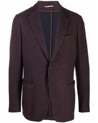 Мужской темно-пурпурный пиджак от Canali