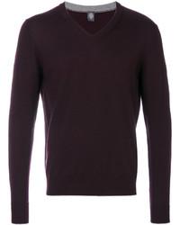 Темно-пурпурный свитшот
