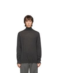 Мужская темно-серая водолазка от Lanvin